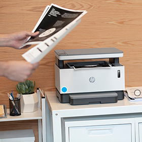 Seamless laser printing with HP Neverstop Toner & Imaging Drum