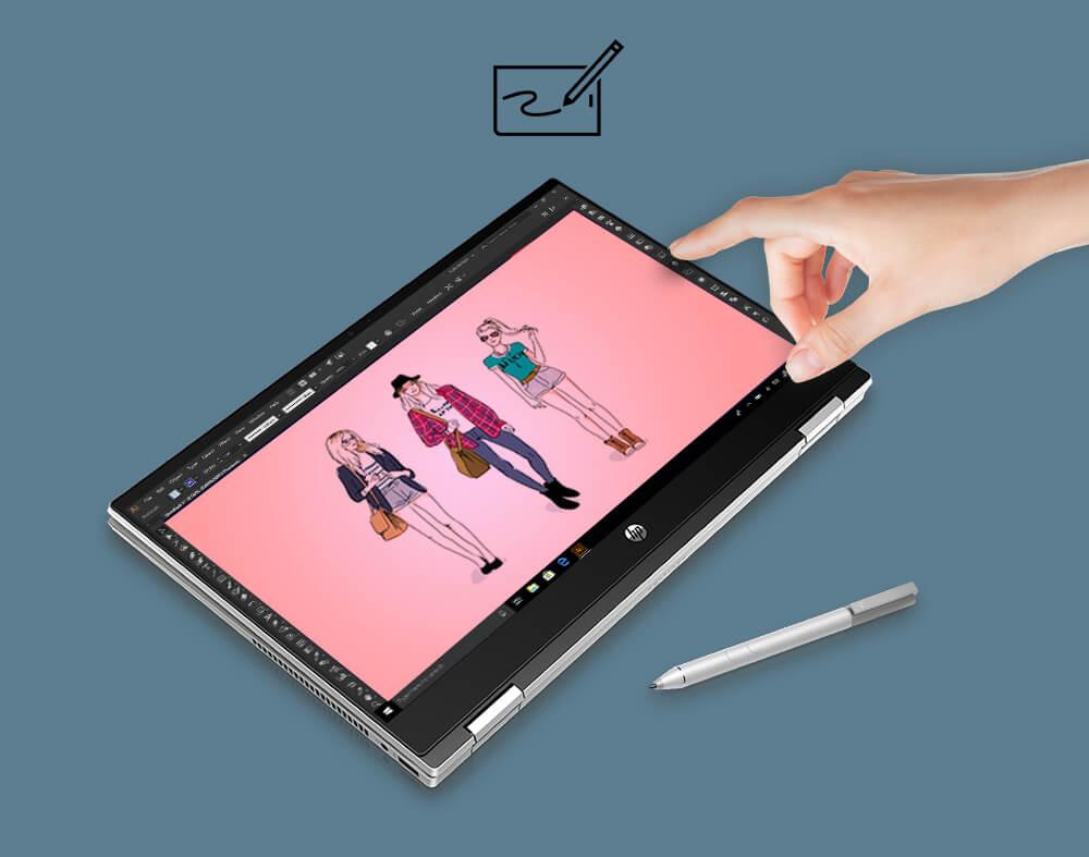 Simultaneous pen & touch